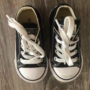 Toddler Converse Unisex Chuck Taylor Black Size 5